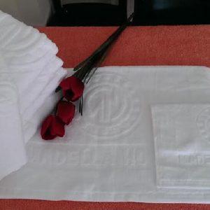 Khăn tay 60g dệt logo - khăn khách sạn - khăn tắm khách sạn