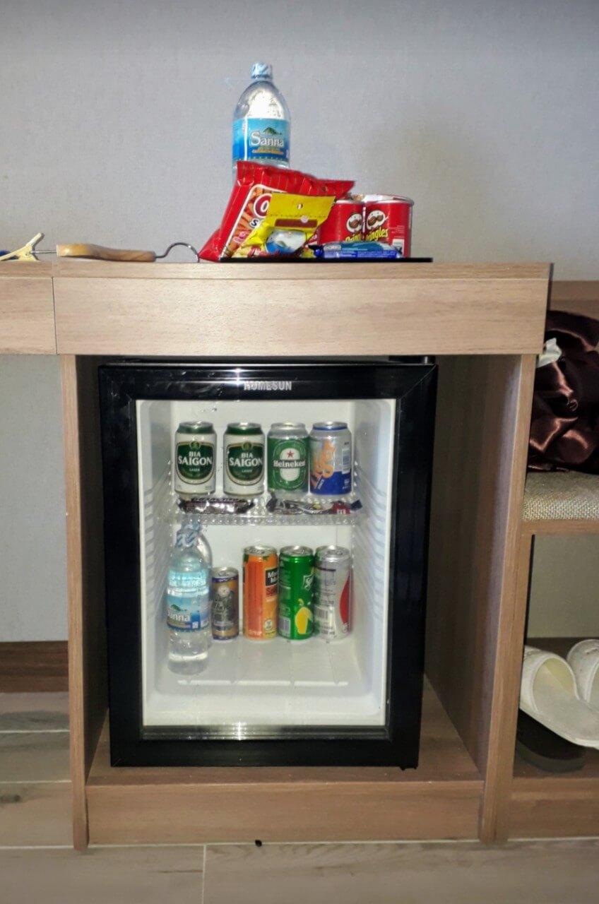 setup phòng khách sạn