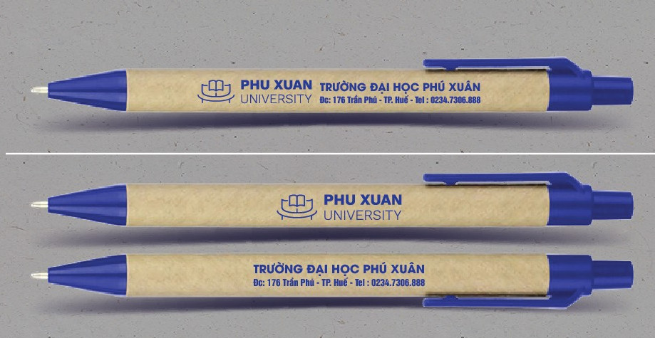 bút bi lên maket