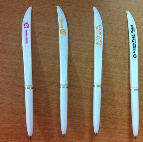 viết cán dao dùng trong khách sạn